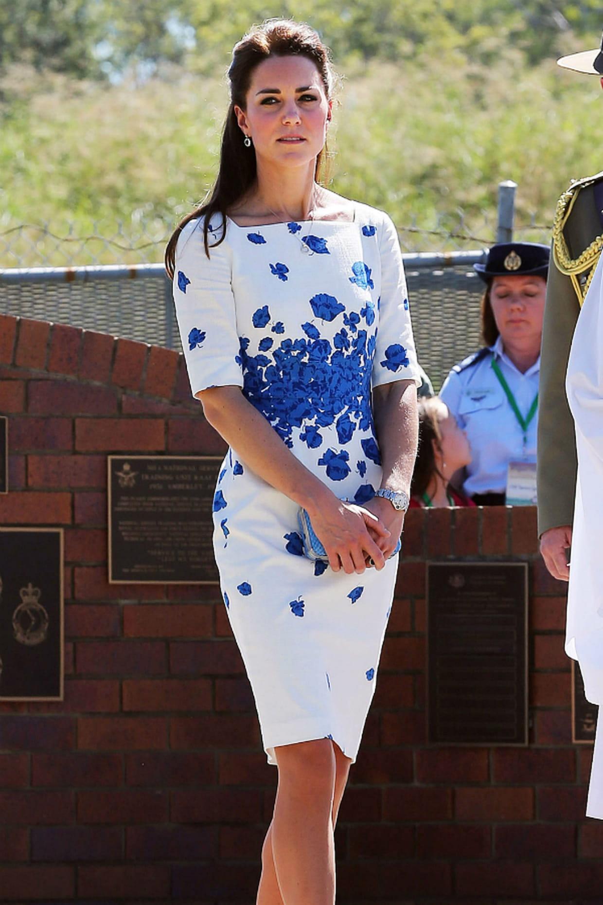 Kate Middleton En Robe Lk Bennett En 2014
