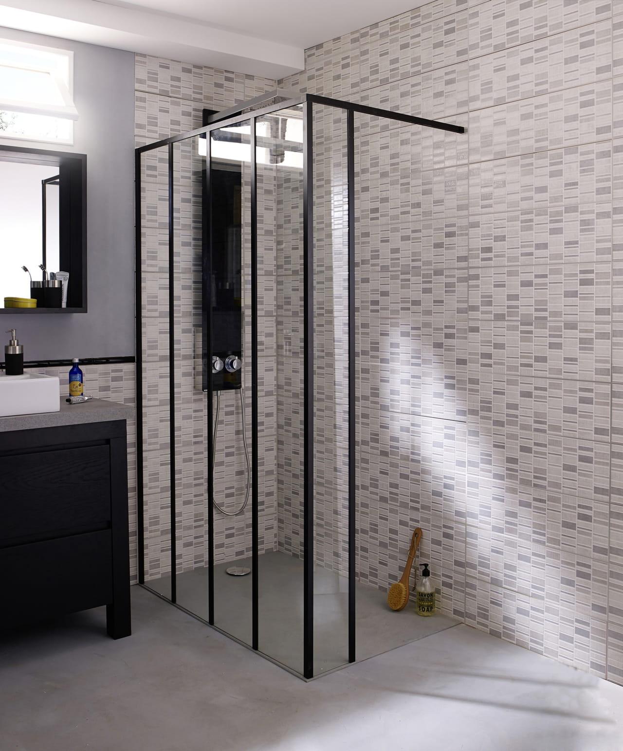 cabine de douche zenne castorama