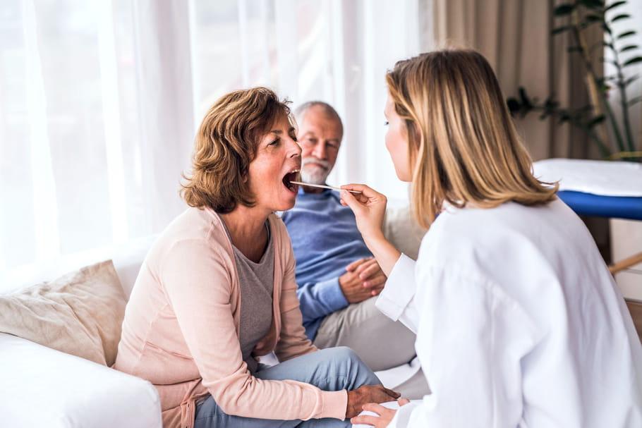 Les symptômes et causes du cancer du palais