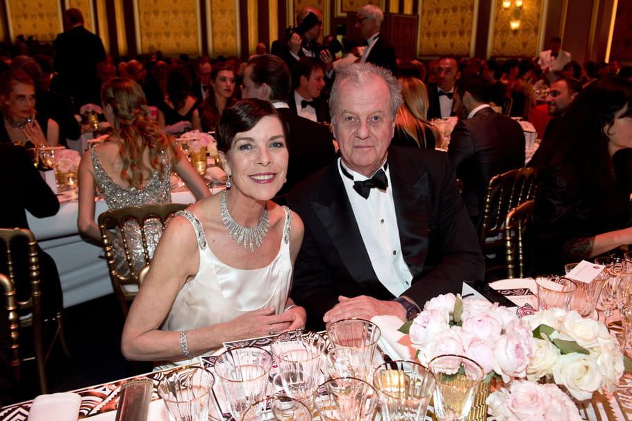 La princesse Caroline de Hanovre et Jacques Grange
