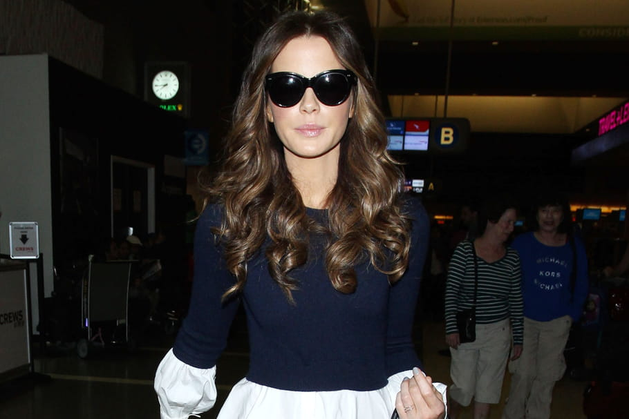Le look people du jour : Kate Beckinsale, apprêtée