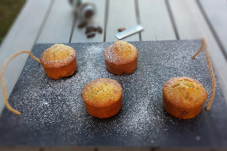 Muffins praliné et fève tonka