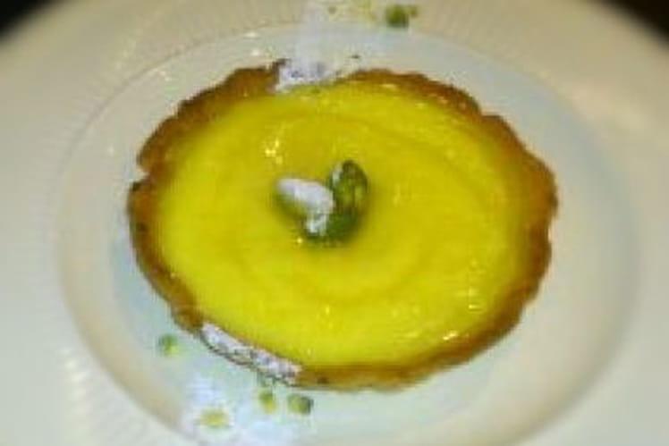 Tartelettes fleur d'oranger pistache