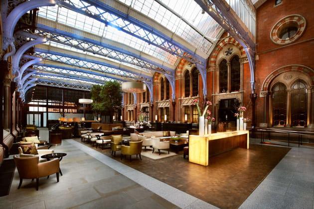St. Pancras Renaissance London Hotel : le lobby