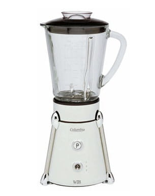 mini blender columbia de white and brown
