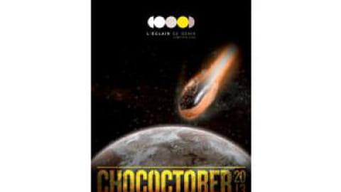 Christophe Adam lance le Chococtober à L'Éclair de génie