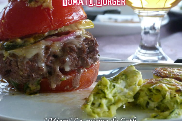 Tomates farcies façon burger