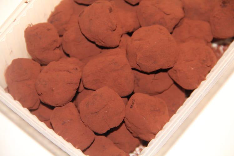Truffes fondantes au chocolat