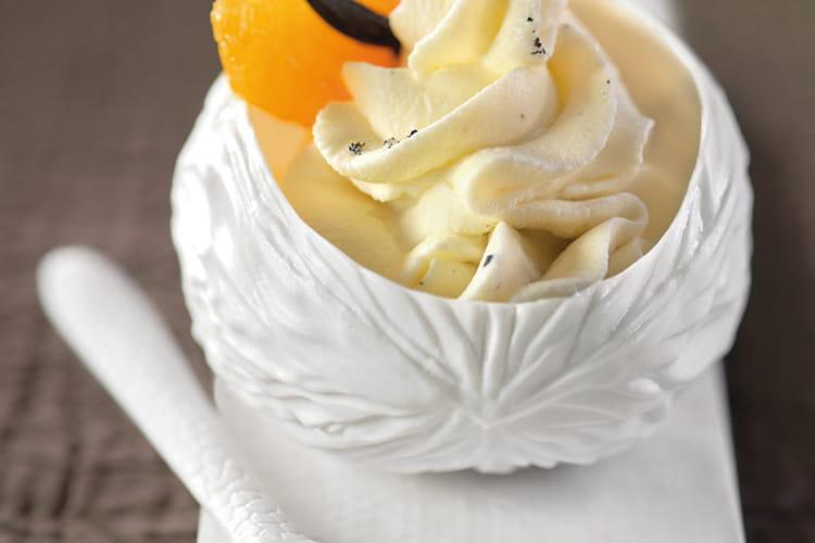 Crème chantilly Mozart orange