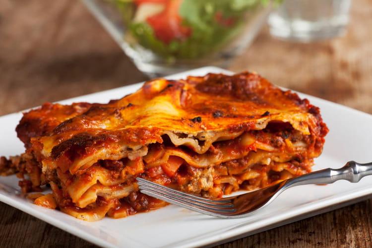 Lasagnes à la bolognaise classiques