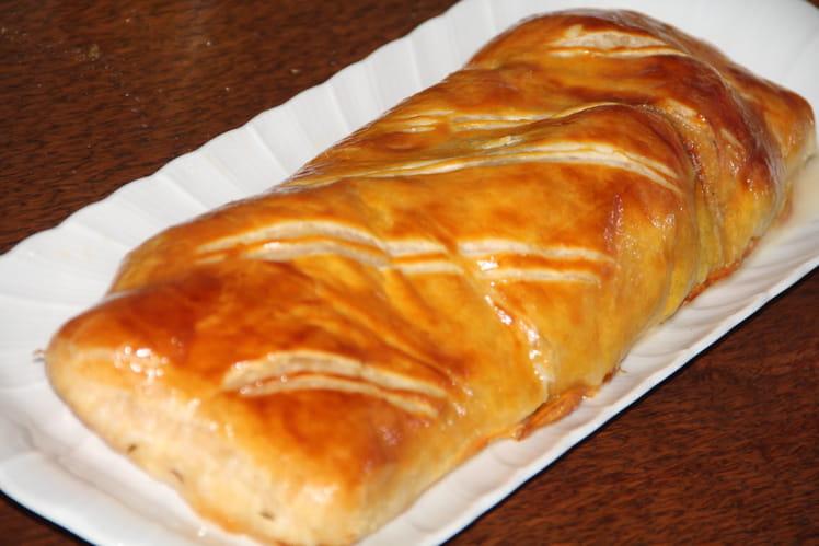 Filet mignon de porc en croûte au munster