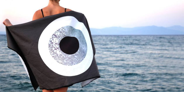 Drap de plage Evil Eye de My greek family