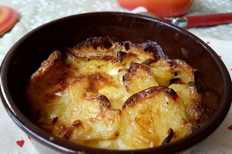 Gratin de pommes de terre à la noix de muscade