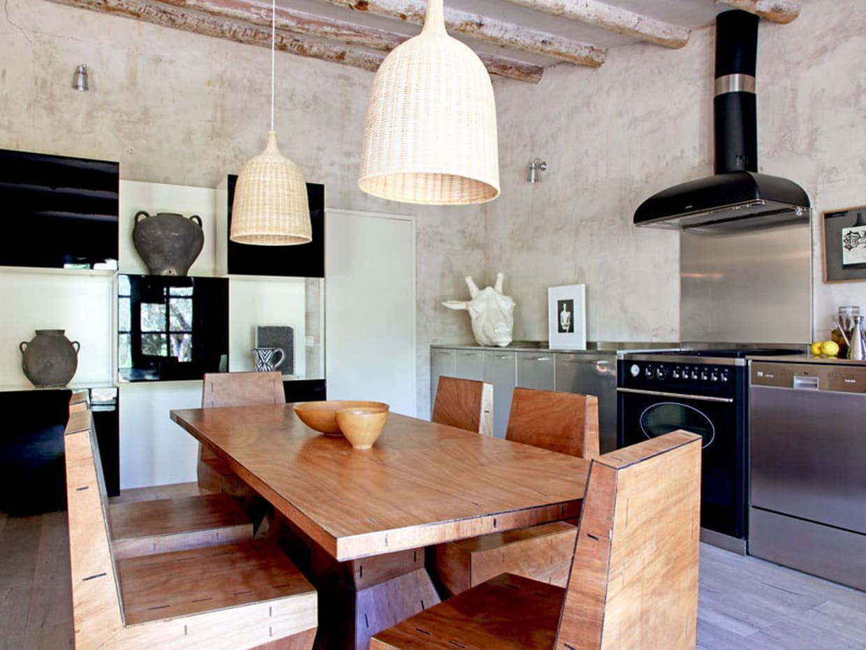 Tendance noir et blanc for Deco cuisine 1970