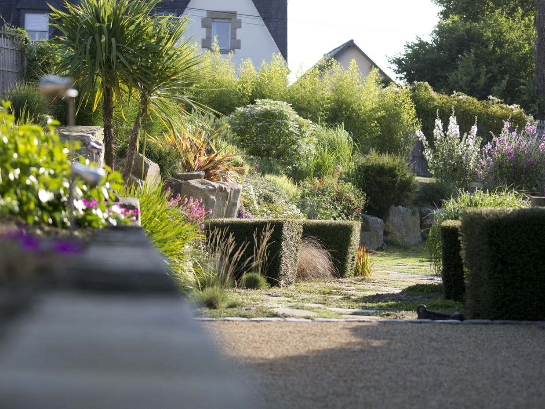 Perspective verdoyante for Entretien jardin le havre