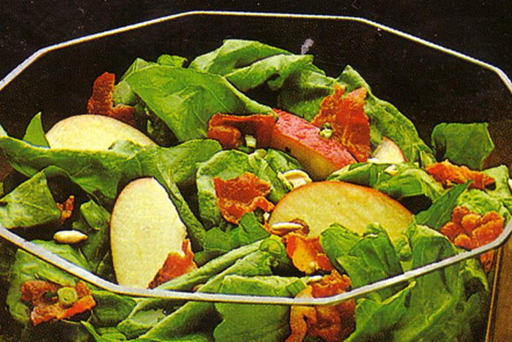 Recette De Salade D Epinards Crus La Recette Facile
