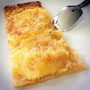 tarte fine à l'ananas