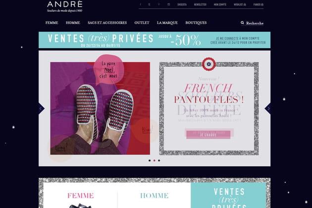 Le e-shop de André