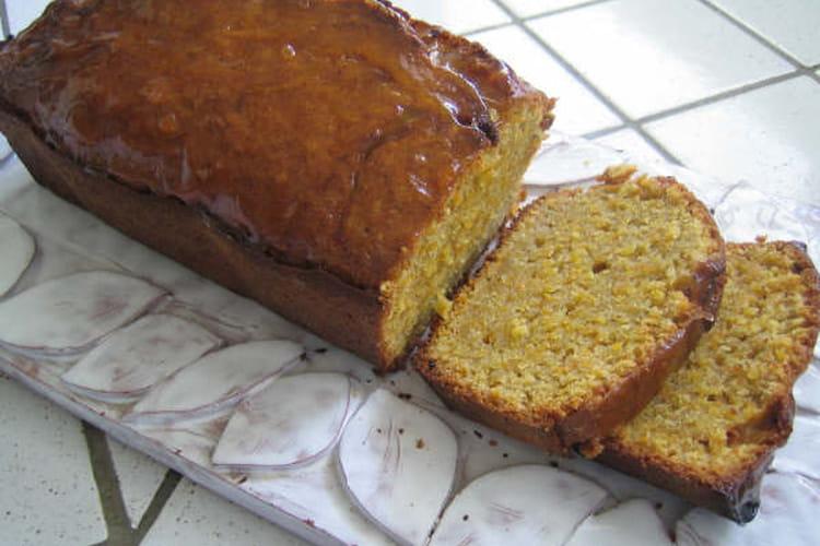 Carrot cake (cake aux carottes et aux épices)