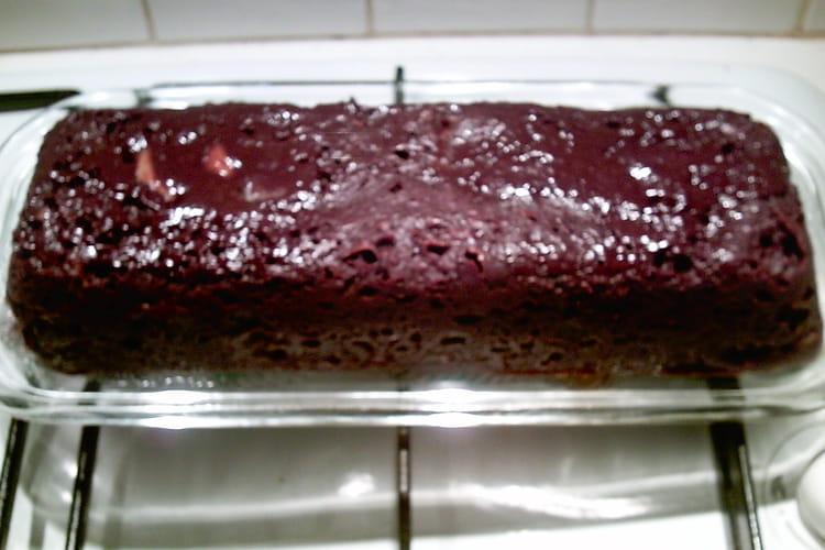 Gâteau banane-chocolat