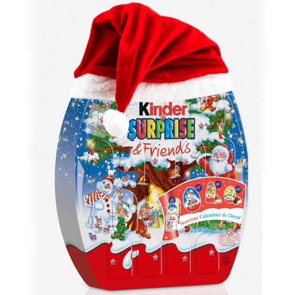 Calendrier de l'Avent Surprise & Friends de Kinder