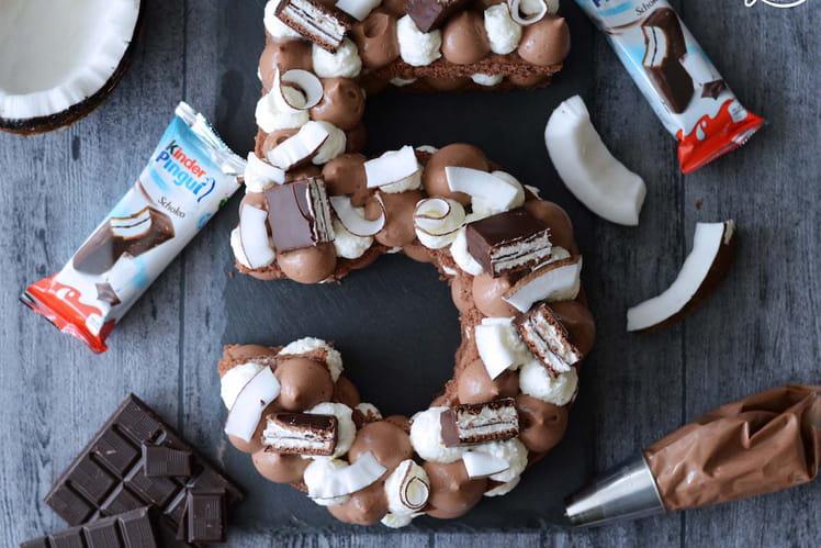 Number Cake façon Kinder Pingui® Coco