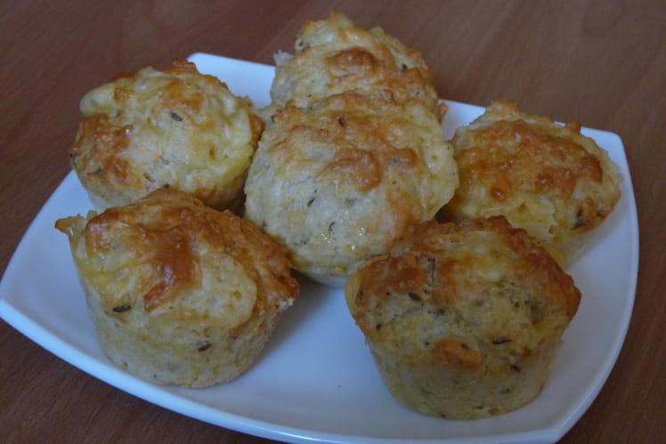 Muffins au gouda et au cumin