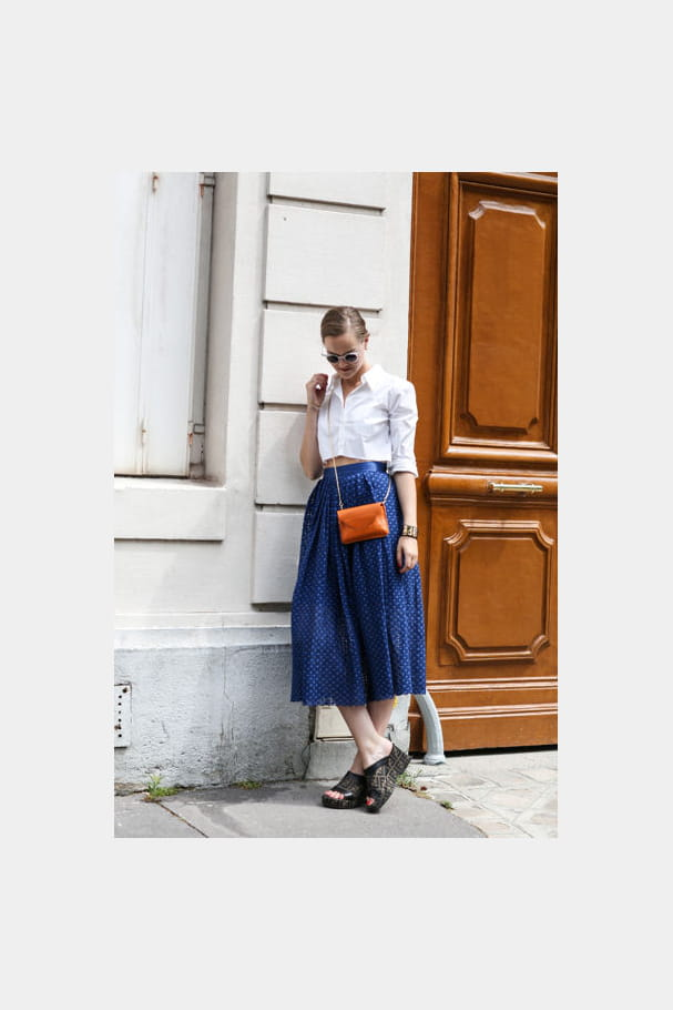 Street looks fashion week haute couture : rétro