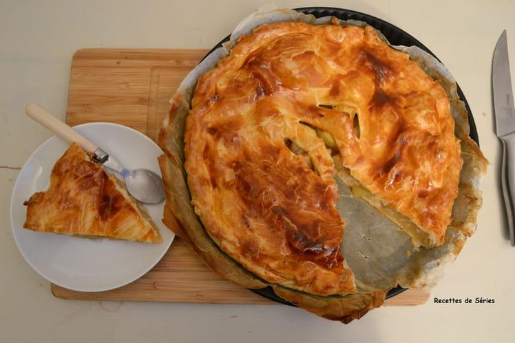 Tartes aux pommes anglaise - British apple pie