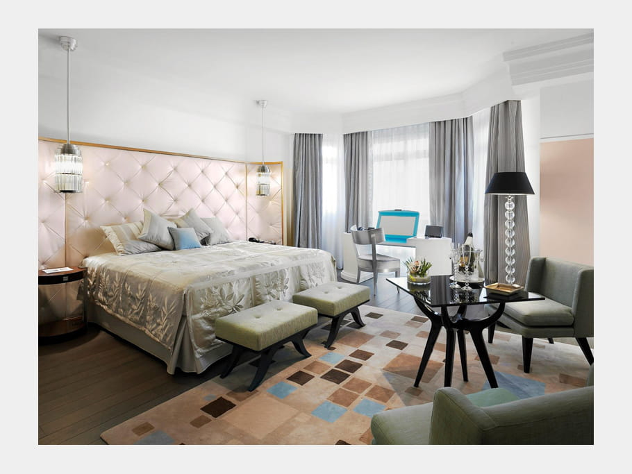 La suite des oliviers du Grand Hyatt Cannes Hôtel Martinez