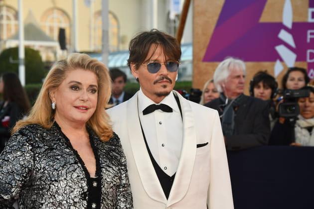 Catherine Deneuve, très proche de Johnny Depp