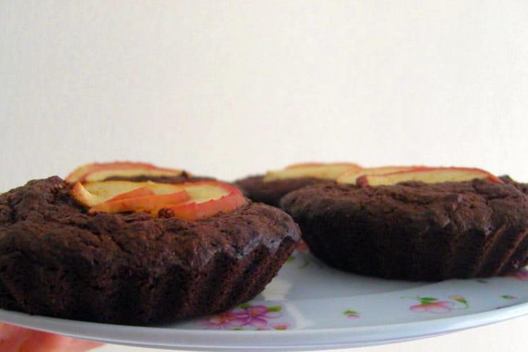 Tarte-brownie aux pommes