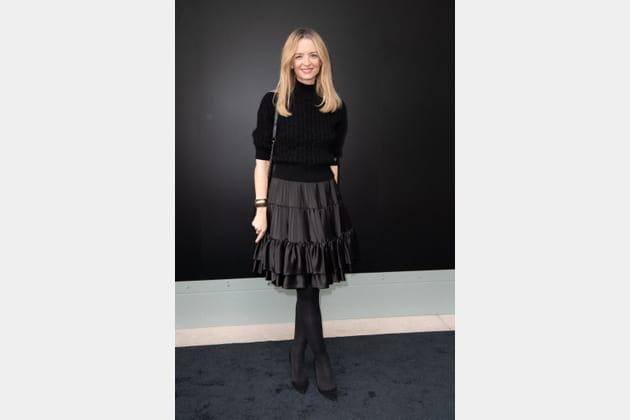 Delphine Arnault au défilé Louis Vuitton