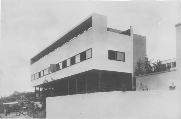Photographie de la Maison Weissenhof, Le Corbusier et Pierre Jeanneret