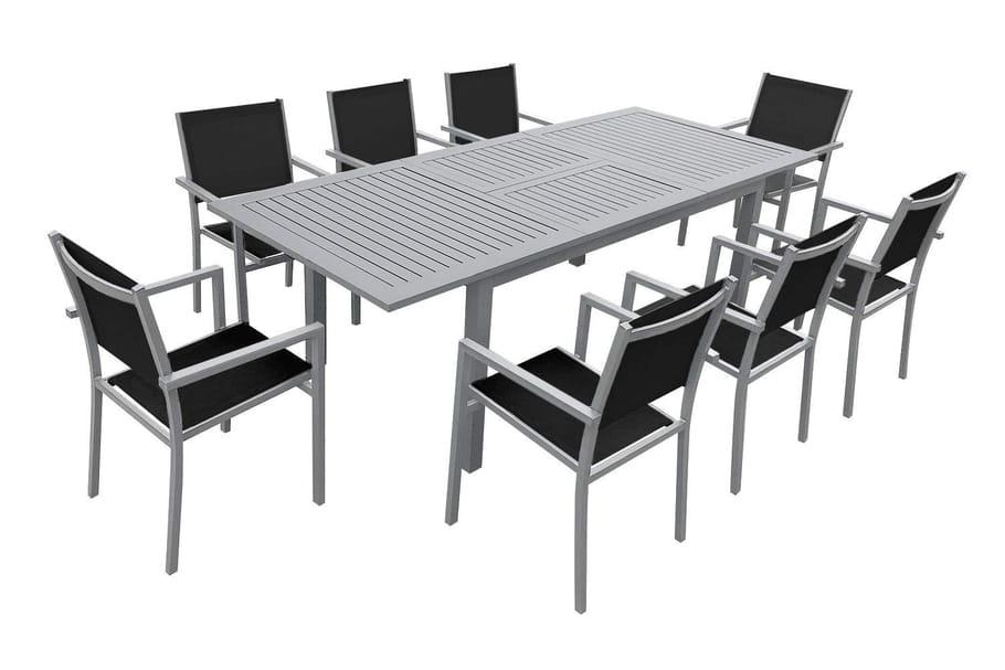Meilleurs salons de jardin en aluminium : notre sélection