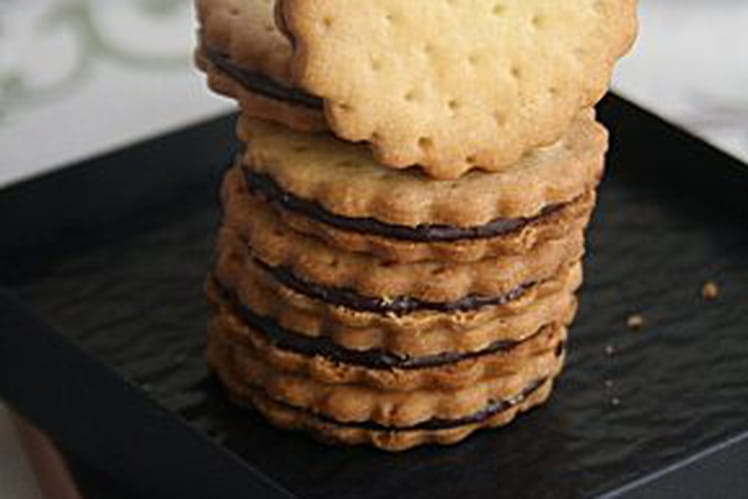 Biscuit chocolat comme le Prince Lu