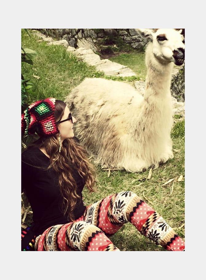 Noémie Honiat, Serge mon lama