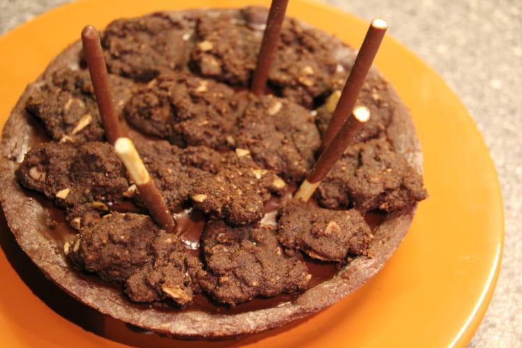Tartelettes au chocolat et aux amandes