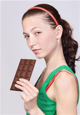 du chocolat oui, mais en quantité raisonnable !