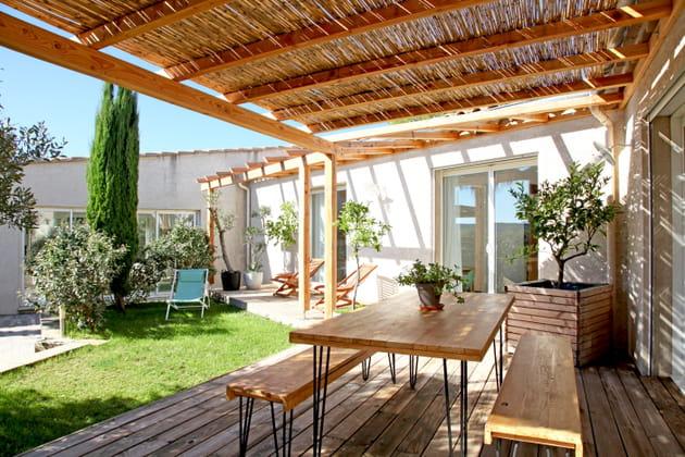 Terrasse en total look bois