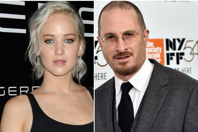 Jennifer Lawrence et Darren Aronofsky