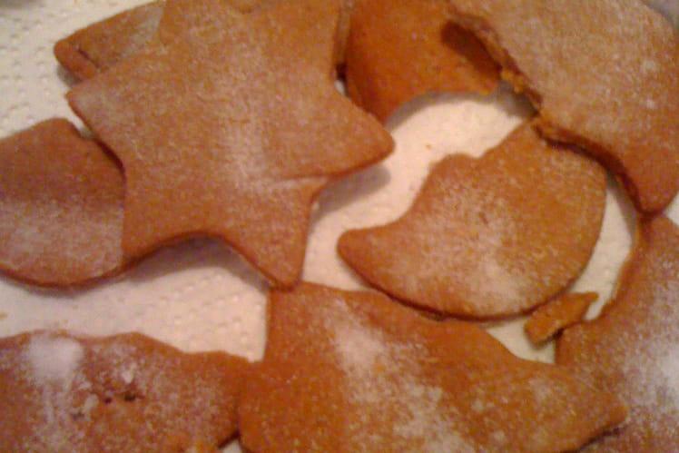 Petits biscuits en pain d'épice