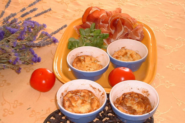 Flans au fromage