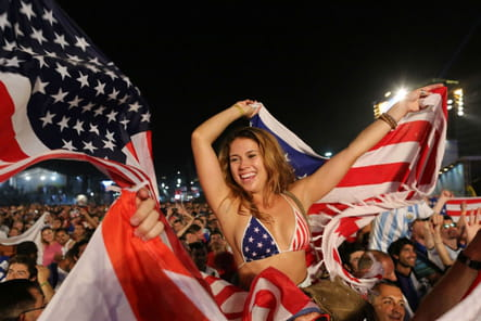 Supportrices sexy Coupe du monde 2014 USA