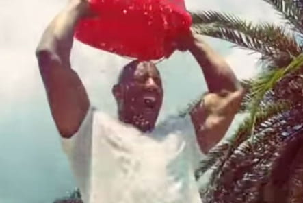 Dwayne Johnson Ice Bucket