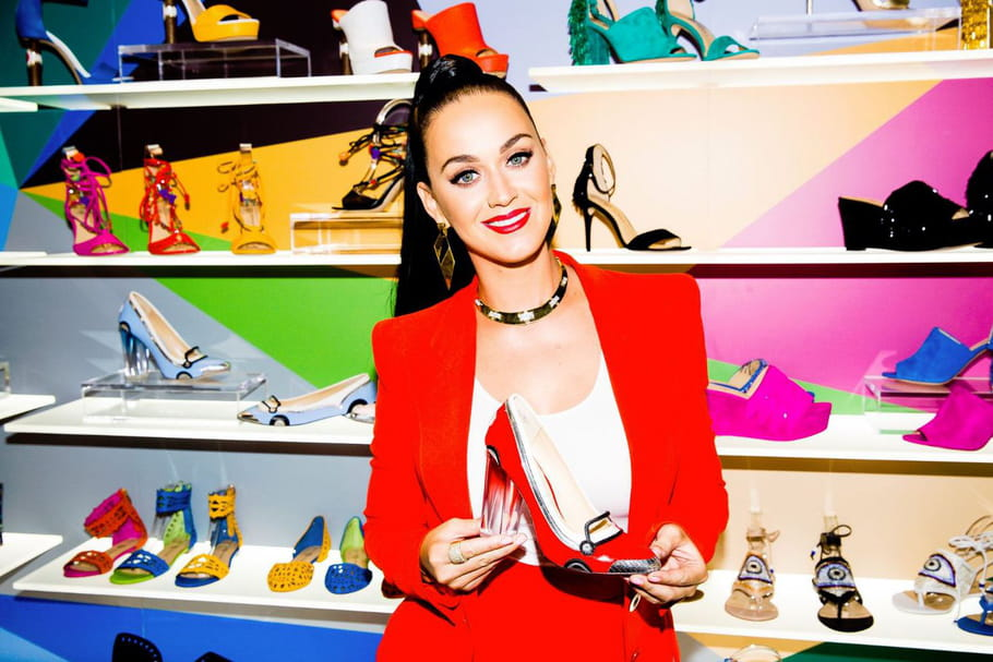 Katy Perry lance sa marque de chaussures