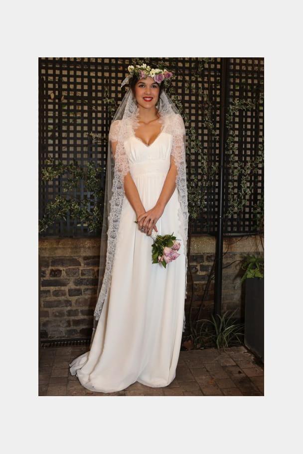 Robe de mariée Flora, Elsa Gary