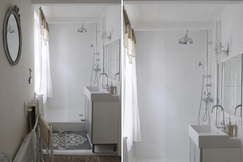 une salle d 39 eau dans la chambre. Black Bedroom Furniture Sets. Home Design Ideas