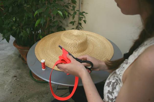 Etape 4 la touche mademoiselle chapeaux - Je cherche du travail femme de chambre ...