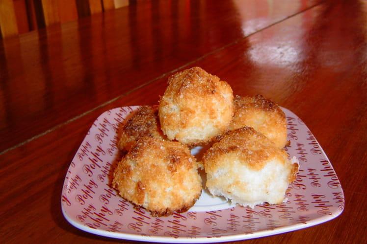 Rochers à la noix de coco faciles et rapides